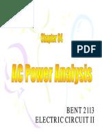 AC Power Analysis