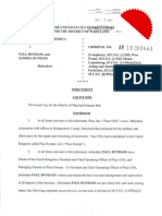 Indictment of Paul and Sandra Dunham