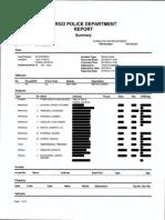 Fargo Police Department report on pool incident