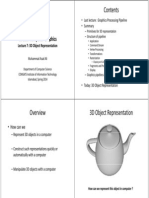 Computer Graphics Lec7 3D Object Representation (1)