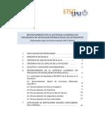 Normativa Anterior Movilidad 2013-2014