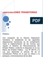 DISPOSICIONES TRANSITORIAS12