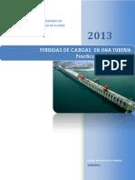 Informe Perdida de Cargas en Tuberia (Reparado)