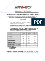 Time Watch Investments 1Q2010 Press Release 131109