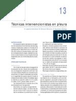 Técnicas Intervencionistas en Pleura