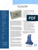 Pump Boss - Intelligent Pump Control brochure
