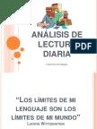 Análisis de Lectura Diaria 07042014