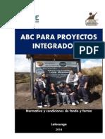 ABC de Los Proyectos Ntegrador Espe 2014
