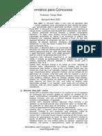 Conceitos - Microsoft Word 2007