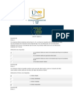 Estadísitca Descriptiva - UNAD - Act 9 Quiz 2 - 13 de 15