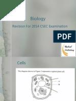 CSEC Biology 2014 Revision