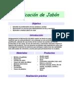 Fabricación de Jabón