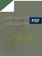 Delinacion magnetica