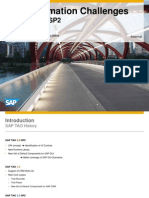 SAP TAO 3.0 - SP2 - Test Automation Challenges