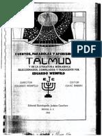 Cuentos y Parabolas Del Talmud