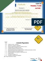 Certificado de Trabalho Em Altura NR 35 LINICHE DIAS DOS ANJOS