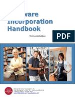 Delaware Incorporation Handbook (13th Edition, 2012)