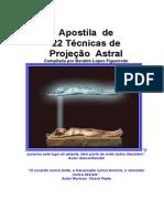 Apostila de 22 Técnicas de Projeção Astral (Beraldo Lopes Figueiredo) Edit