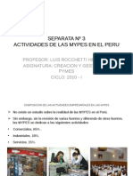 Sesion 3. Actividades de Las Mypes