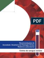 Recomendações Da Sociedade Brasileira de Patologia Clínica - Medicina Laboratorial Para Coleta de Sangue Venoso