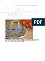 Free How to Sew a Curved Bag Gusset Tutorial