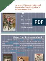 Analysis Character Christmas Carol