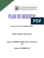 Plan de Negocio-gestion de La Construccion