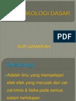 Handout Toksik Dasar PSPD 2008