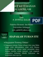 Konsep Ketuhanan Dlm Islam