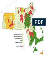 Electric Utility Map of Massachusetts