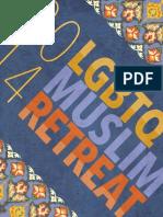 2014 LGBTQ Muslim Retreat Program Book