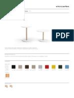 Viccarbe Common Tisch Katalog 2013