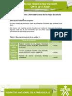 Microsoft Office 2010 Excel. Unidad 2 v 5