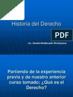 Derecho e Historia