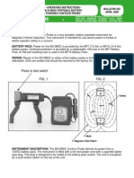 Parker b310 Manual