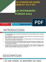 Proyecto Lavador de Gases Calderos 1,2 y 5