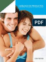 Corona - 2013 Catalogo Sanitarios Lavamanos Complementos