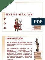 1. Tipos de Investigacion