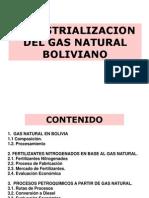Industrializacion Del Gas Bol