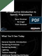 OpenGL e Glut - Estruturas