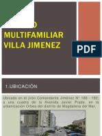 Edificio Multifamiliar Villa Jimenez