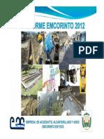 Informe de Gestion 2012