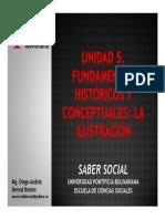 Unidad 5 Fundamentos Históricos y Conceptuales La Ilustración