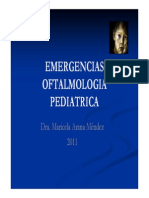Emergencias Oftalmologia Pediatrica