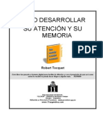 Robert Toquet - Como Desarrollar Su Atencion y Su Memoria - Copia