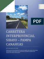 Carretera Interprovincial Sibayo
