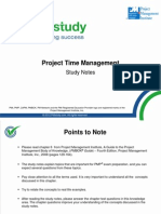 PMP Study Study Notes