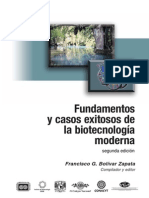Fundamentos y Casos Exitosos de la Biotecnología Moderna