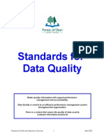 5. Data Quality Standards