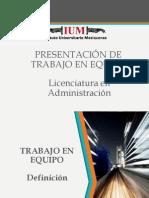 Presentación Trabajo en Equipo (Libro)